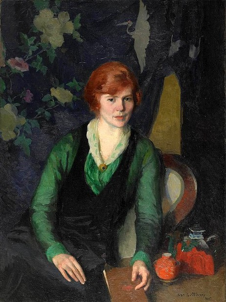 Portrait Of A Woman - Redhead