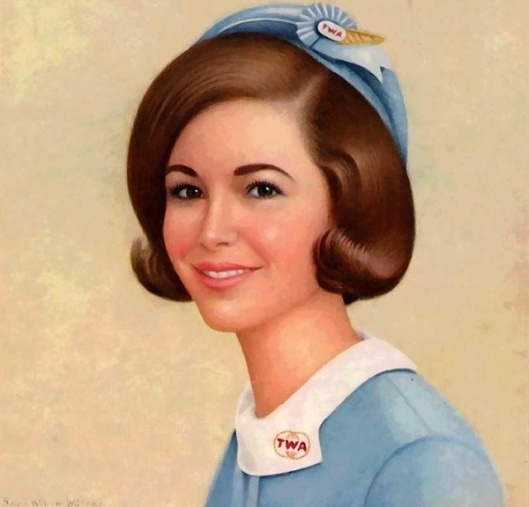 TWA Hostess Judy Neumann
