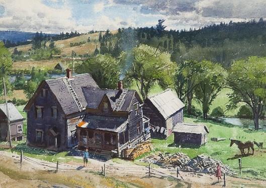 A New Brunswick Farm - A Riverside Farm