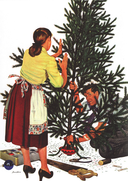 Centering The Christmas Tree