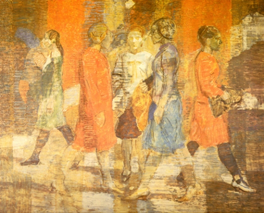 Five Women Walking