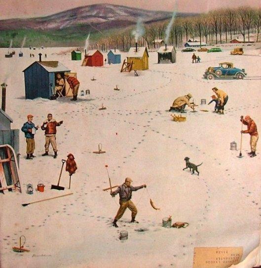 Ice Fishing Camp