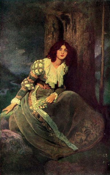 Lorna Doone of Blackmore's Novel of That Name