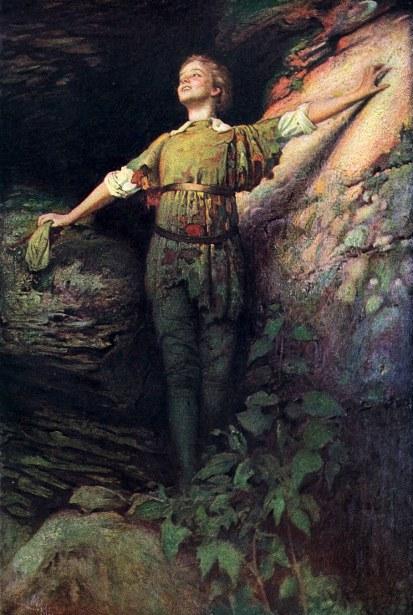 Maude Adams as Peter Pan