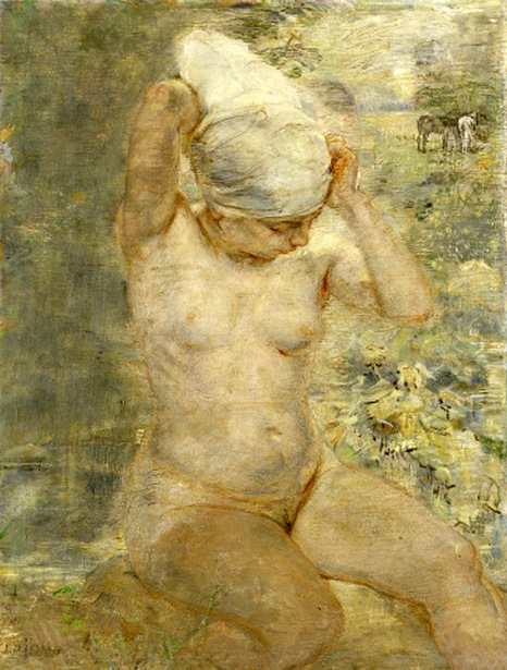 Nude By Stream