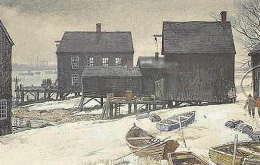 Portsmouth Harbor Boathouse