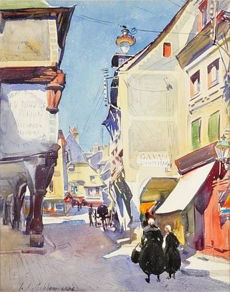 Scene de Rue en Bretagne