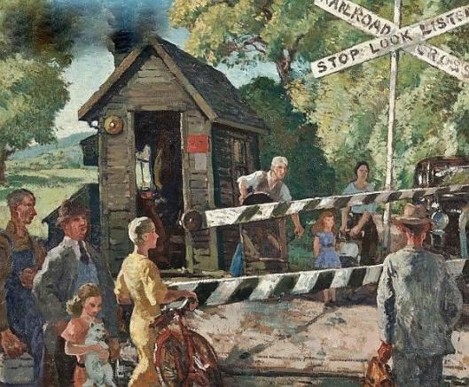 The Railroad Crossing