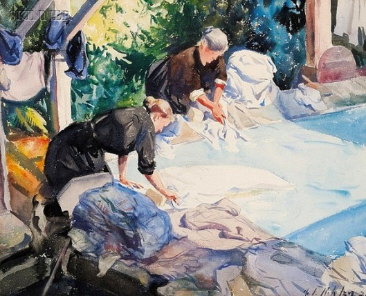 Two Laundress
