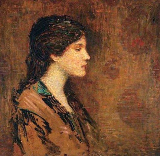 Woman In Profile