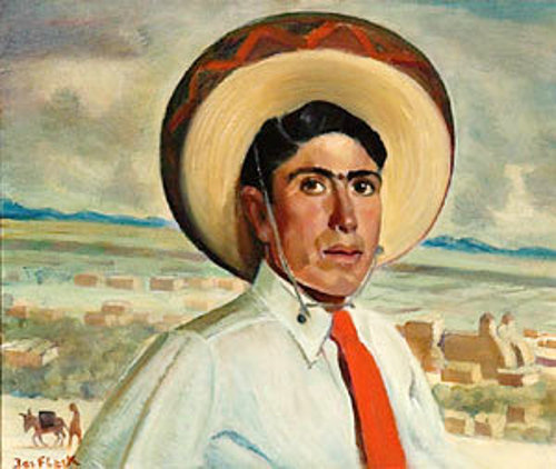 Young Man With Sombrero