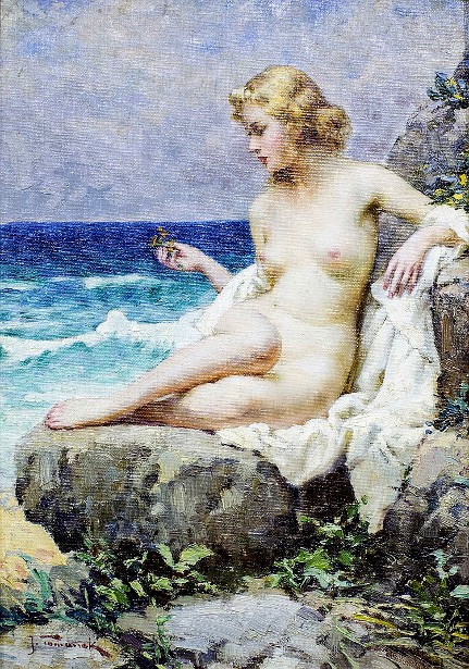 Nude At Shore