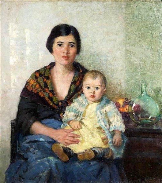 Portuguese Mother And Child