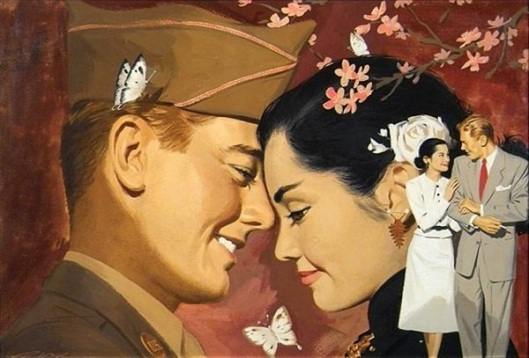 American Soldier And Japanese Woman