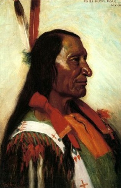 Chief Rocky Bear, Sioux