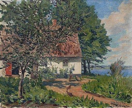 Danish Cottage On A Lake