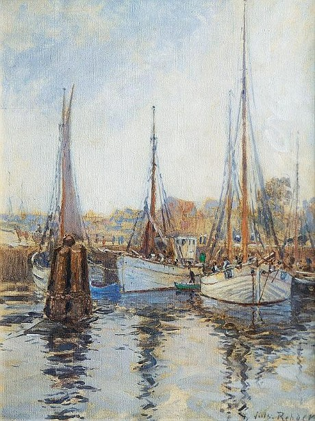 Haven With Fishing Boats