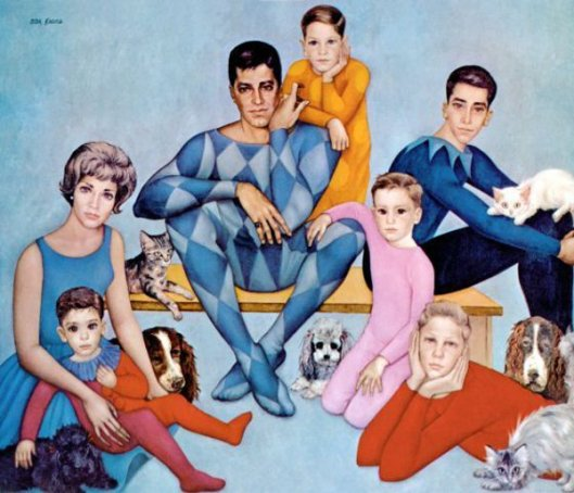 Jerry Lewis And Family