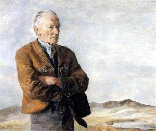 Peter Hurd In Landscape
