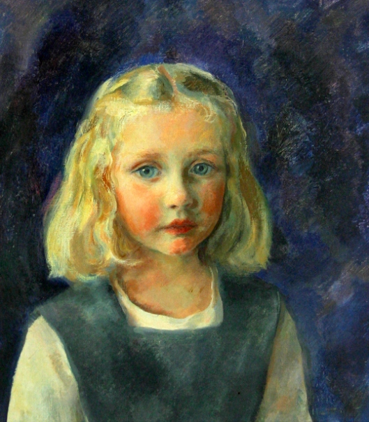 Portrait Of A Young Girl (Gail Vanderbilt Whitney)