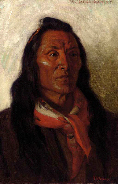 Tailfeather, Blackfoot