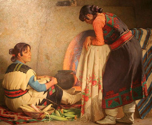 Taos Indian Women