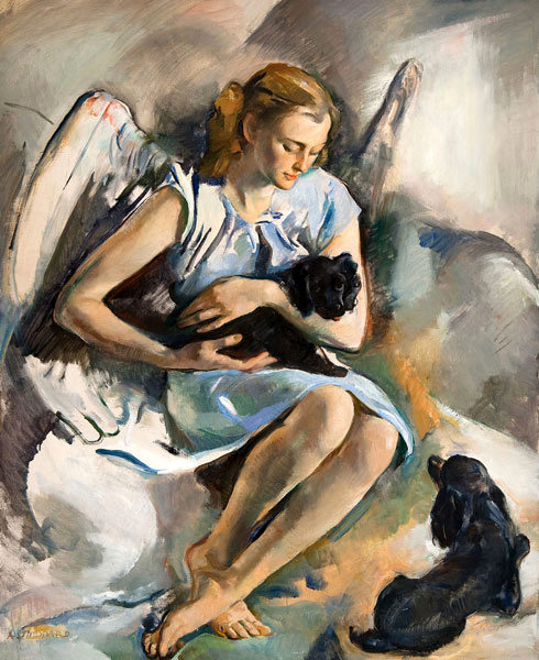The Puppies' Angel