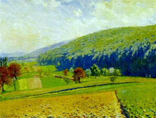 View Of A Summer Landscape