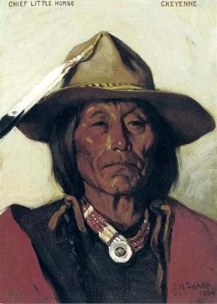 Chief Little Horse, Cheyenne