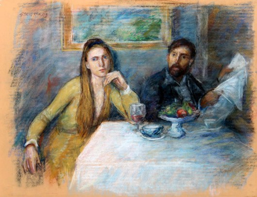 Couple At Table