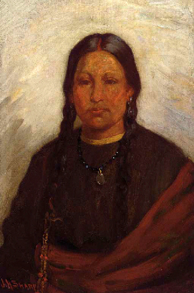 Daughter Of Chief Little Wolf, Cheyenne