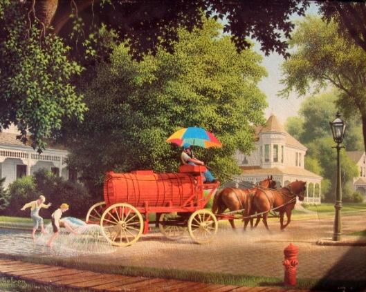 Happy Days - Water Wagon