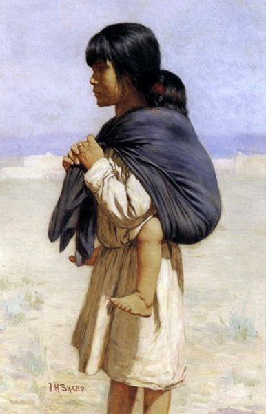 Indian Pueblo Children