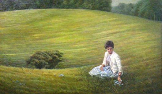 Jane In The Meadow