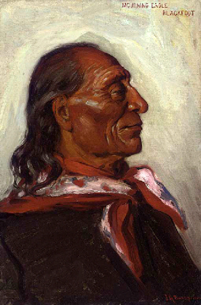 Mourning Eagle, Blackfoot