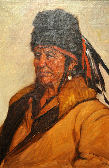 Old Dog, Crow Indian Chief