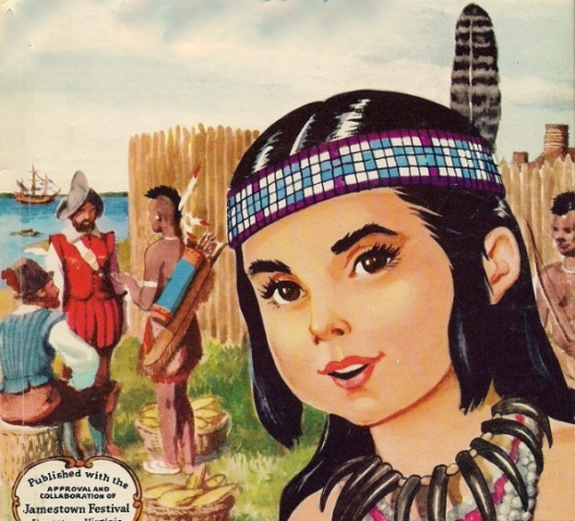 Pocahontas, A Little Indian Girl Of Jamestown