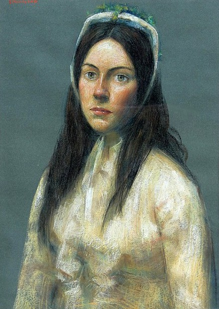 Portrait Of A Girl - A Young Woman