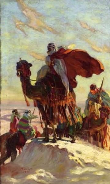 The Camel Rider