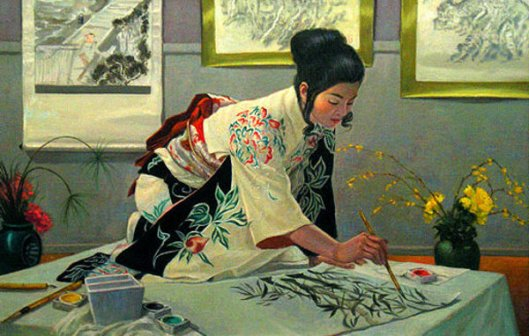 The Sumi Painter