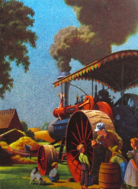 Threshing Bee - Harvest Time
