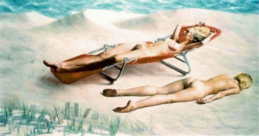 Twin Bathers