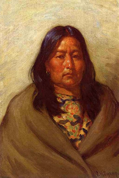Wife Of Chief Little Wolf, Cheyenne