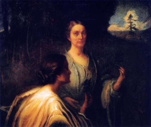 Anna Grainger Daingerfield And Unidentified Person