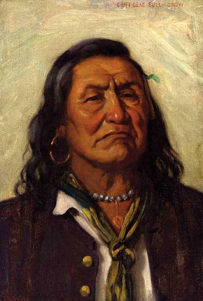 Chief Deaf Bull, Crow