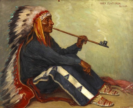 Chief Flat Iron, Sioux