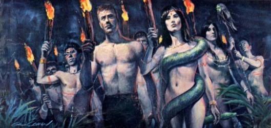 I Was Shipwrecked On The World's Strangest Nudist Island