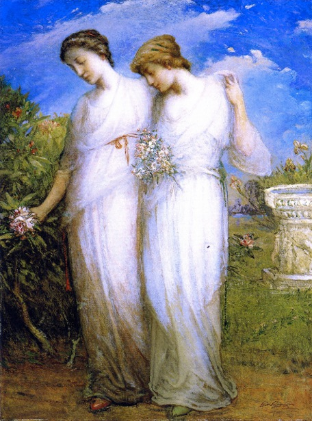 The Sisters - Marjorie And Gwendolin Daingerfield