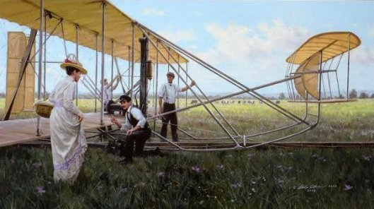 The Wrights At Huffman Prairie, 1905