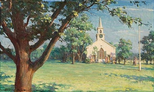 A Cape Cod Church